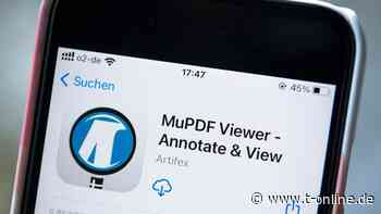 Smartphone-Software - MuPDF: Flinker und freier PDF-Betrachter