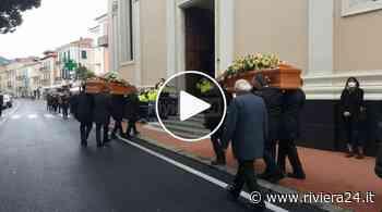Diano Marina, commozione ai funerali di Liana Bracco e Alessandro Delbecchi - Riviera24