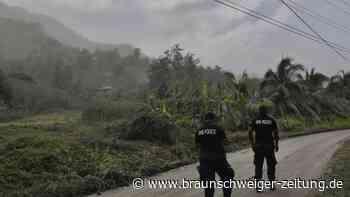 Karibikinsel: UN: St. Vincent nach Vulkanausbruch ohne sauberes Wasser