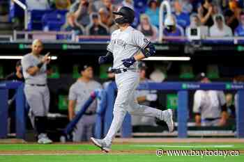 Higashioka and Cole help Yankees beat Blue Jays 3-1