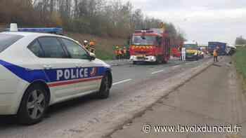Arras – Dainville : après l'accident mortel de vendredi, le chauffeur du camion mis hors de cause - La Voix du Nord
