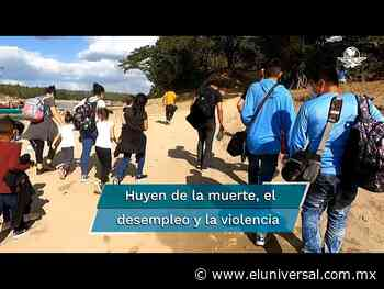 Se incrementa el tráfico de menores migrantes centroamericanos por Frontera Corozal en Chiapas - El Universal