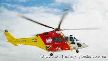 Trail bike accident at Bonshaw sees 60-year-old man taken to Tamworth by rescue helicopter - The Northern Daily Leader