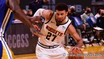 Jamal Murray injury update: Nuggets star suffers apparent non-contact left knee injury vs. Warriors