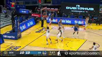 Michael Porter Jr. with an alley oop vs the Golden State Warriors