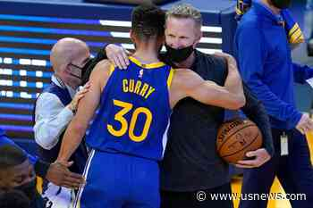 Curry Scores 53 as Warriors Beat Nuggets 116-107