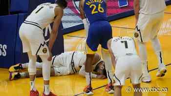 Canada's Jamal Murray suffers knee injury in game vs. Warriors