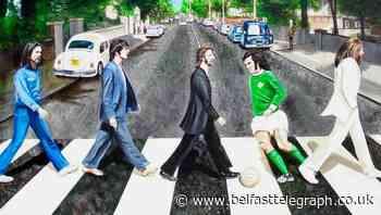 George Best and the Beatles come together for artwork auction