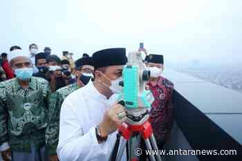 Wali Kota Surabaya dukung Rooftop TP 3 jadi tempat Rukyatul Hilal - ANTARA