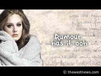 Adele - Rumour Has It Lyrics - TheWestNews