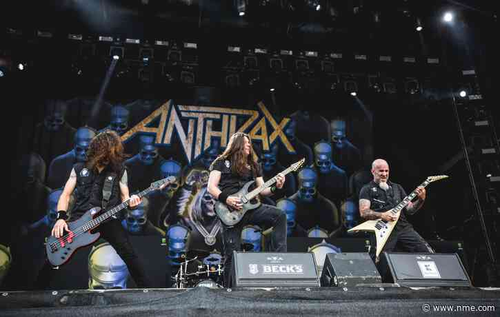 "Anthrax reveal ""something big"" is coming to celebrate their 40th anniversary"
