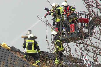 Dachstuhlbrand in Selters - WW-Kurier - Internetzeitung für den Westerwaldkreis