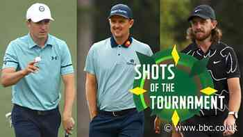 The Masters 2021: Jordan Spieth, Justin Rose & Tommy Fleetwood - shots of the tournament