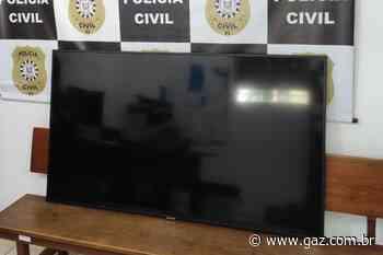 Polícia Civil recupera TV furtada em Arroio do Tigre - GAZ