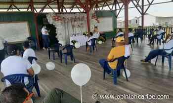 En Sitionuevo, comunidad conmemoró el Día Nacional de la Memoria y Solidaridad con las Víctimas - Opinion Caribe