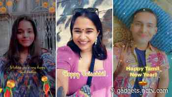 Snapchat Brings AR Lenses to Celebrate Gudi Padwa, Vaisakhi, Puthandu