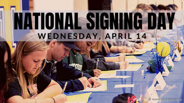 Send OCVarsity your Signing Day news on Wednesday, April 14