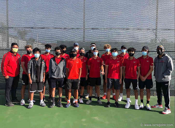 Woodbridge boys tennis snaps University's league winning streak at 129 matches