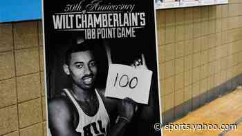 Steph recreates Wilt photo after setting Warriors' scoring record