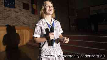 Tahlia Barwick set to take on region after debating triumph - The Northern Daily Leader