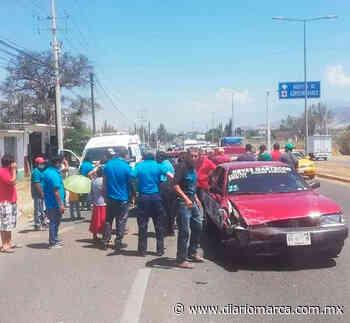 Seis lesionados deja accidente en San Bartolo - Diario Marca de Oaxaca