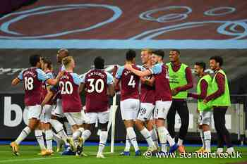West Ham stars set for £9m bonus if they seal Champions League spot for next season