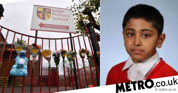 Boy, 10, died after hitting head playing football 'with shoes that were too big'