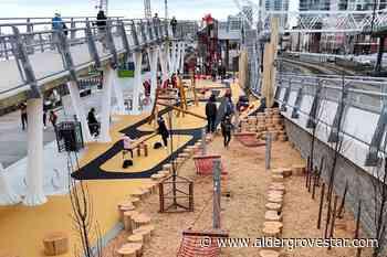 New Westminster pier park reopens 6 months after enormous fire – Aldergrove Star - Aldergrove Star