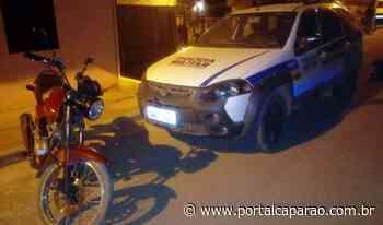 Moto furtada em Lajinha é localizada em Ibatiba; um autor preso - Portal Caparaó