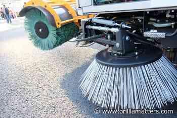 Spring cleanup beginning on Penetanguishene streets - OrilliaMatters