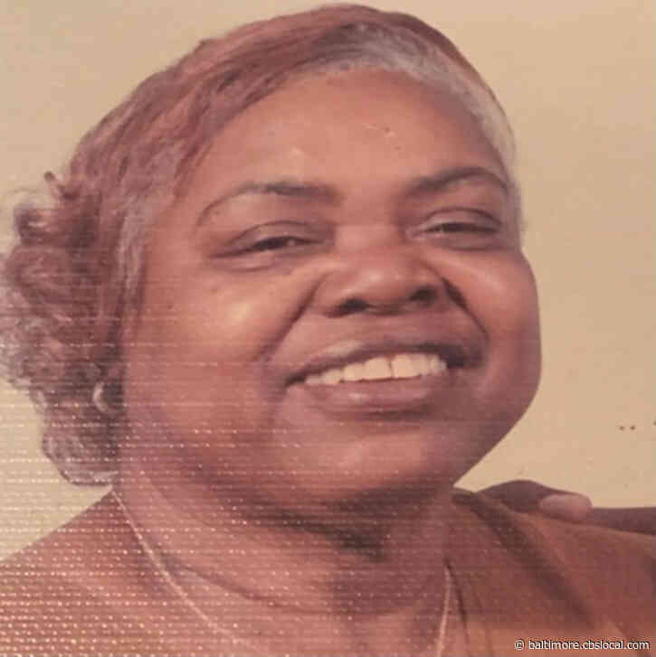 Baltimore City Police Search For Missing 86-Year-Old Woman