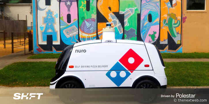 Houston, we have pizza: Domino's and Nuro run self-driving delivery robots