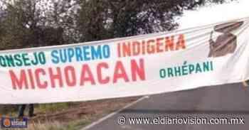 Liberan carretera Morelia, Quiroga, a la altura de Santa Fé de la Laguna - El Diario Visión