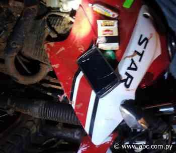 Hombre falleció en choque de motos ocurrido en Acahay - Nacionales - ABC Color