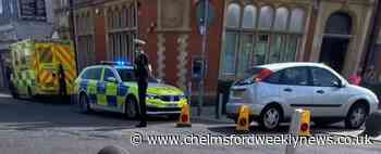 'Emergency incident' after car leaves road in Clacton town centre - Chelmsford Weekly News