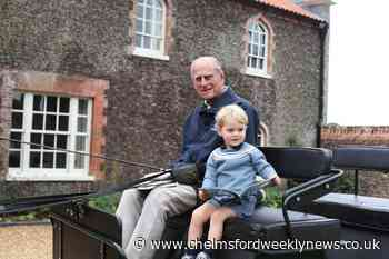 Palace shares photo of Prince George with 'mischievous' great-grandfather Philip - Chelmsford Weekly News