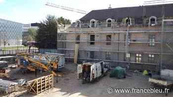 Dijon : un début d'incendie sur le chantier de la future chantier Internationale de la Gastronomie et du vin - France Bleu