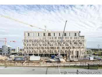À Dijon, la Caisse d'Épargne lance la plus grande opération immobilière mixte en bois - Batiactu