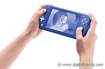 Upcoming blue Nintendo Switch Lite model takes color cues from GameCube