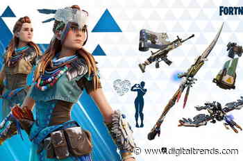 Aloy from Horizon Zero Dawn is Fortnite's latest character
