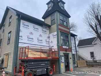 Renovations Underway At Mahone Bay Town Hall - CKBW