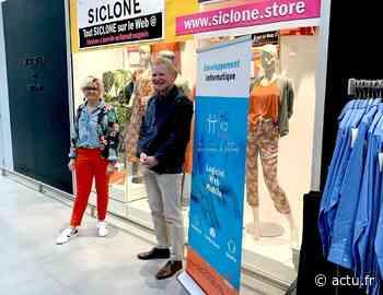 Evron : le magasin de prêt à porter Siclone vend en ligne grâce à une société lavalloise - Le Courrier de la Mayenne