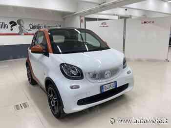 Vendo smart fortwo 70 1.0 twinamic Urban usata a Borgaro Torinese, Torino (codice 8937118) - Automoto.it