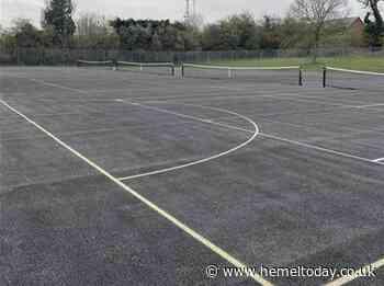 Newly resurfaced tennis and netball courts in Hemel Hempstead reopen - Hemel Today
