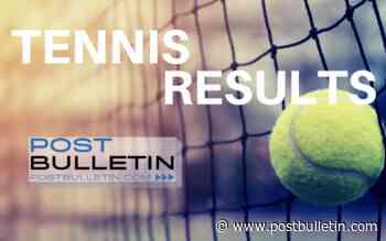 Monday's boys tennis results - PostBulletin.com
