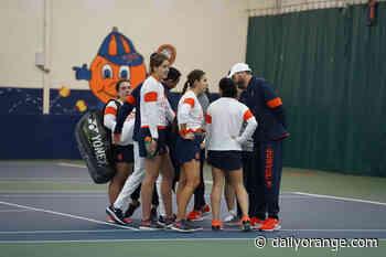 The numbers behind Syracuse's 2021 tennis season - The Daily Orange