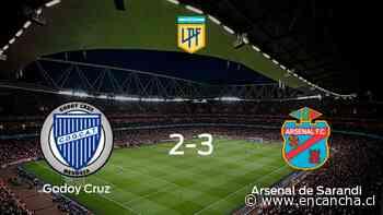Arsenal de Sarandi vence 3-2 en el estadio de Godoy Cruz - EnCancha.cl