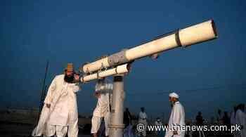 Ramzan moon in Pakistan: Live updates - The News International