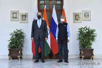Jaishankar's slip of tongue, Lavrov's Pakistan trip — why all's not well with India-Russia - ThePrint