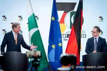 Germany to enhance economic ties with Pakistan - DAWN.com